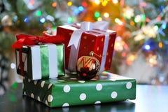 коробки подарка рождества Стоковое Фото