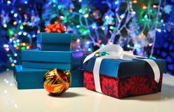 Коробки подарка рождества Стоковое Изображение RF