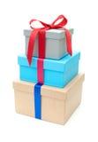 Коробки подарка Стоковые Изображения