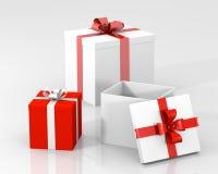 Коробки подарка Стоковые Изображения RF