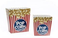 Коробки попкорна Стоковая Фотография