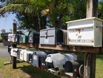 Коробки почты в Мауи! Стоковые Изображения RF