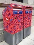 Коробки почты столба Канады Стоковое Изображение RF