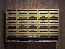 Коробки почты Стоковое Фото