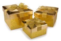 Коробки подарка рождества Стоковые Фотографии RF