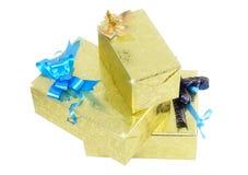 Коробки подарка. Стоковые Изображения