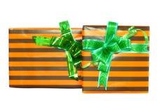 Коробки подарка. Стоковое Изображение