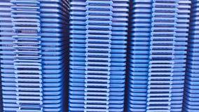 Коробки пластичных клетей Стоковое Изображение RF