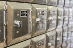 Коробки серебра PO, Испания Стоковые Изображения RF