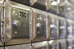 Коробки серебра PO, Испания Стоковые Фото