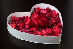 Коробки сердца форменные Стоковые Фотографии RF