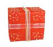 коробки смычков украсили праздник подарка Стоковые Фотографии RF