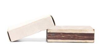 2 коробки спички. Стоковое фото RF