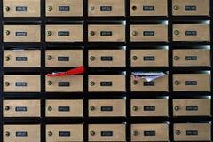 Коробки столба Стоковая Фотография RF