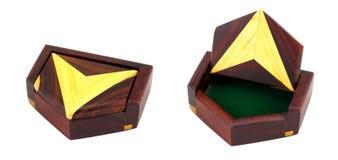 коробки стрелок деревянные Стоковое Изображение