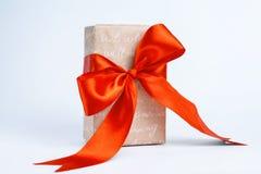 Коробки с подарками на белой предпосылке Стоковая Фотография