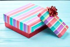 2 коробки с подарками на рождество Стоковые Фотографии RF