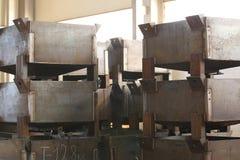 Коробки для компактного хранения различных материалов Стоковые Фотографии RF