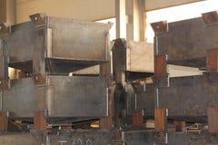Коробки для компактного хранения различных материалов Стоковые Изображения