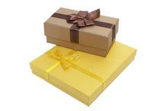 Коробки для подарков Стоковые Фото