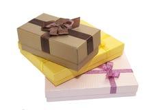 Коробки для подарков Стоковое Фото
