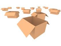 коробки Стоковое фото RF
