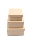 3 коробки Стоковое фото RF
