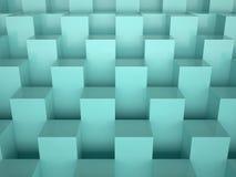 Коробки, 3D Стоковое Изображение RF