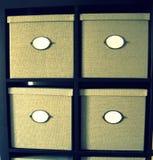 коробки 4 oder Стоковое Фото