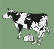 Корова земли Стоковое Изображение