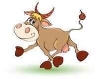 корова сумашедшая иллюстрация штока