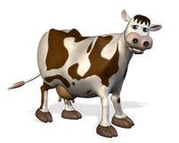 корова шаржа Стоковое Изображение