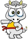 Корова 01 шаржа Стоковые Изображения RF