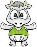 Корова 02 шаржа Стоковые Изображения