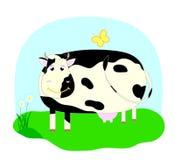 корова smilling Стоковое фото RF