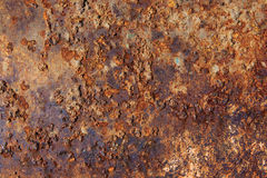 Корозия текстуры металла Стоковая Фотография