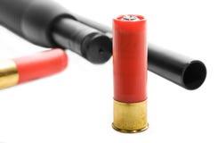 корокоствольное оружие боеприпасыа Стоковое фото RF