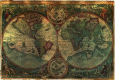 королевская власть свободной карты старая Стоковая Фотография
