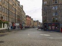 Королевская миля в Эдинбурге Стоковые Изображения RF