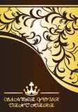 Королевская предпосылка Стоковое фото RF