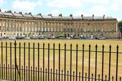 Королевская серповидная ванна Англия Стоковое фото RF