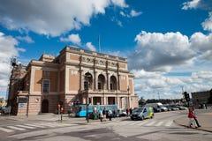 Королевская шведская опера Стоковое Фото