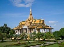 Королевский дворец в Пюном Пеню стоковые фото