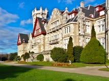 Королевский дворец Ла Магдалена стоковое фото