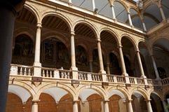 Королевский дворец Палермо в Сицилии Стоковое Изображение