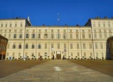 Королевский дворец Турина Пьедмонт, Италия стоковое фото