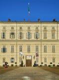 Королевский дворец Турина Пьедмонт, Италия стоковые изображения rf