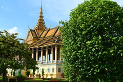 Королевский дворец Стоковое Изображение RF