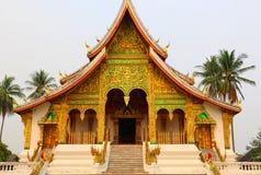Королевский дворец Luang Prabang, Лаоса Стоковое Изображение RF