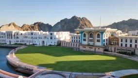 Королевский дворец, Muscat, Оман стоковая фотография